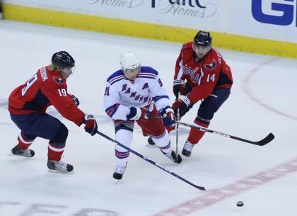 Rangers Defeat Capitals
